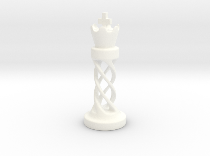 The King 3d printed