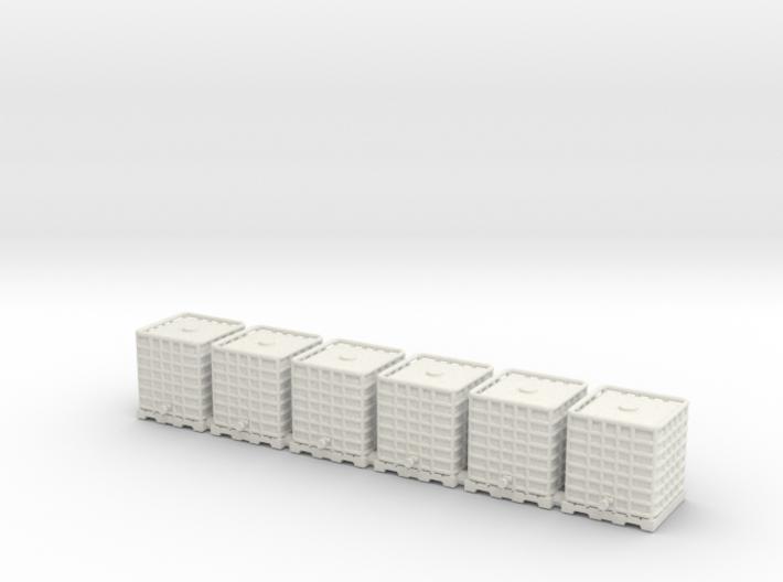Rainwater tank.HO Scale (1:87) 3d printed