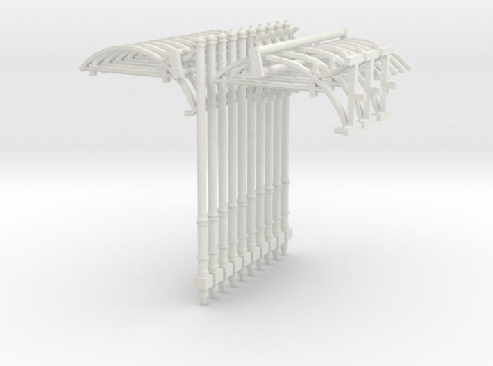 Einfachfahrleitung - SET 13-teilig (N 1:160) 3d printed