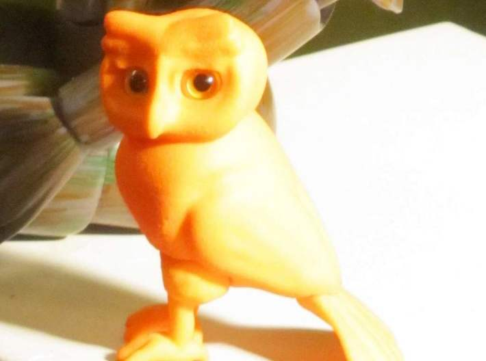 Little Owl BJD 3d printed