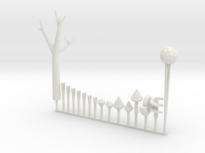 +mini diorama elements - Land of Ooo 3d printed