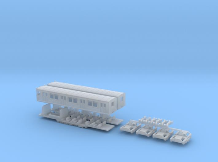 ET165 - Berliner S-Bahn (Z, 1:220) 3d printed