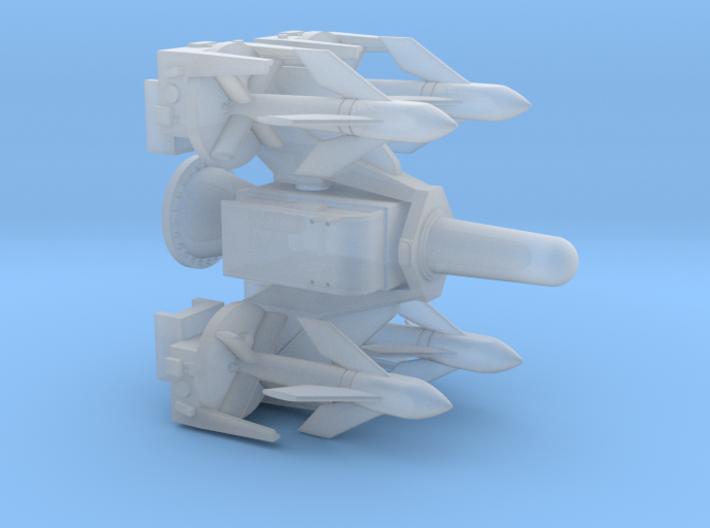 Seacat Launcher 1/144 3d printed