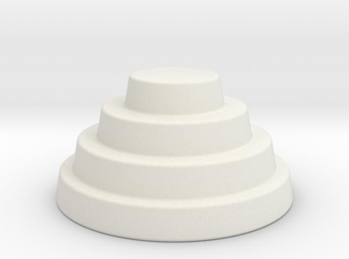 Devo Hat Monstrosa 200mm 3d printed