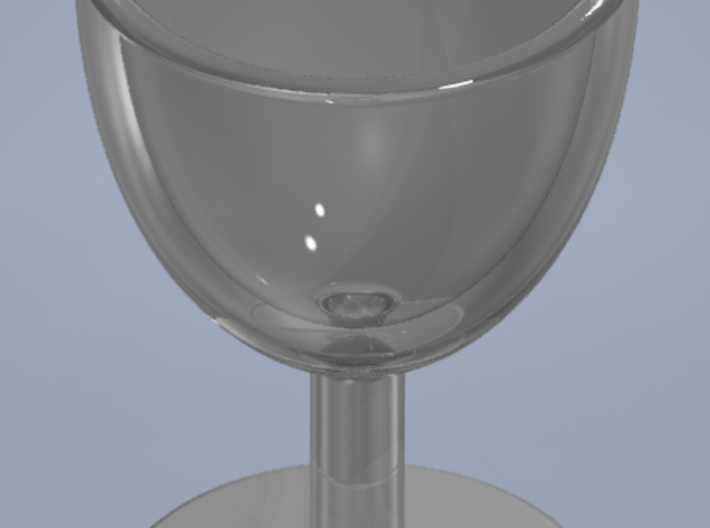 Wine Glass Shot Glass 3d printed