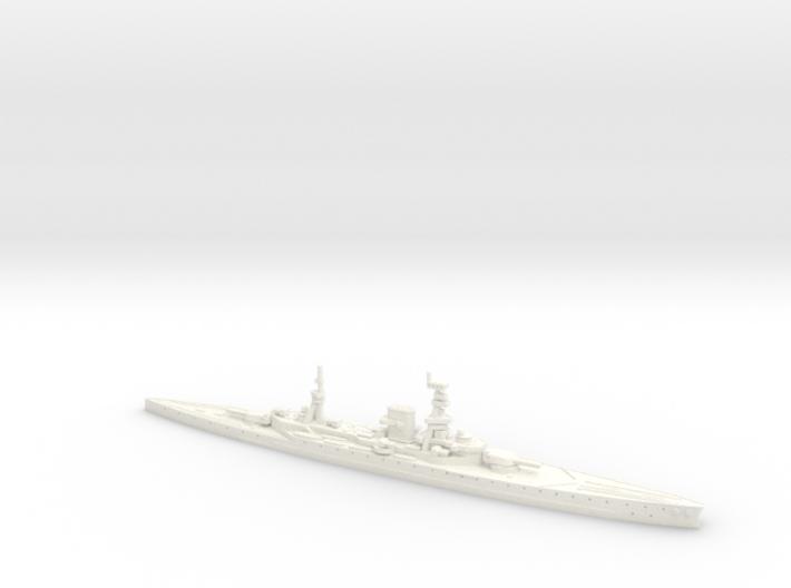 HMS Courageous 1/1800 (as built) 3d printed