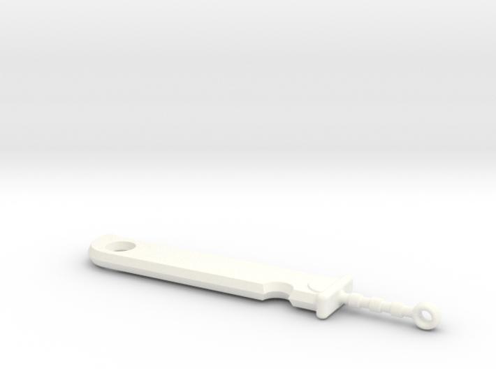 Zabuza's Sword 3d printed