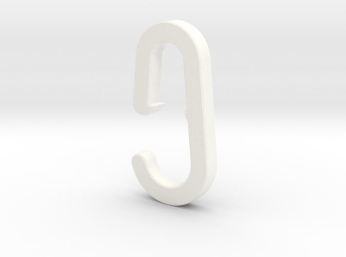 2015 01 24 Haak Kapstok IKEA Hook Skar 3d printed
