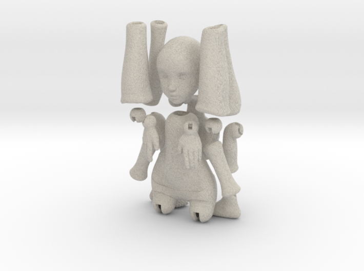 BJD DOLL For SANDSTONE 19 Parts 3d printed
