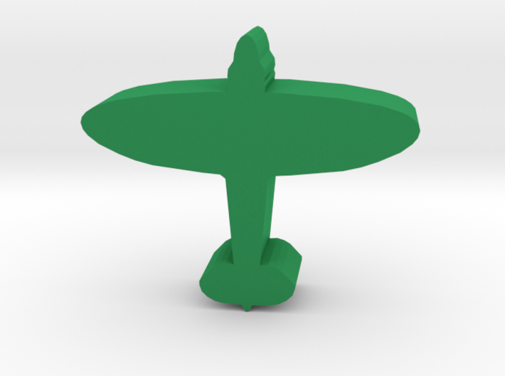 Game Piece, WW2 Spitfire Fighter 3d printed
