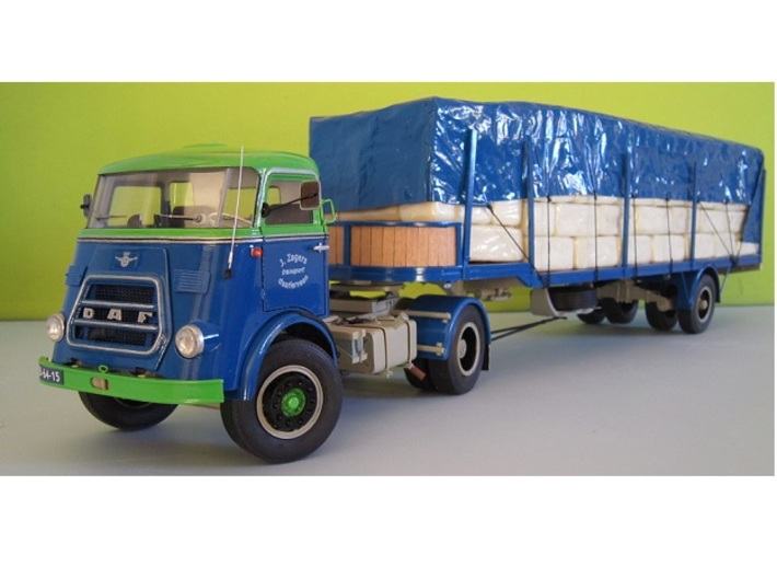 DAF2-JZ-1to24 3d printed (Jabbeke 2015) Contest winning DAF truck built by J. Zagers (NL)