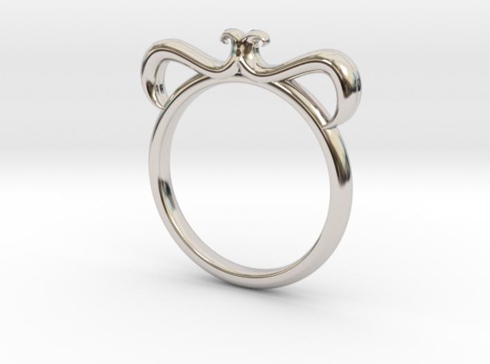 Petal Ring Size 4 3d printed