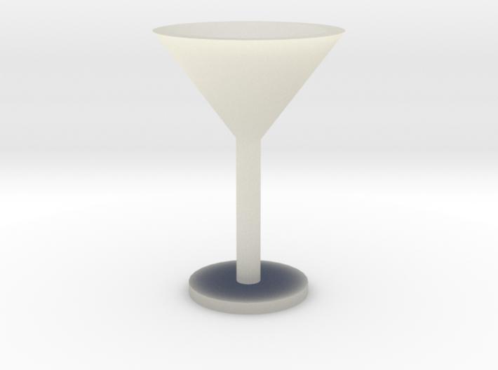 Martini glass mini 3d printed