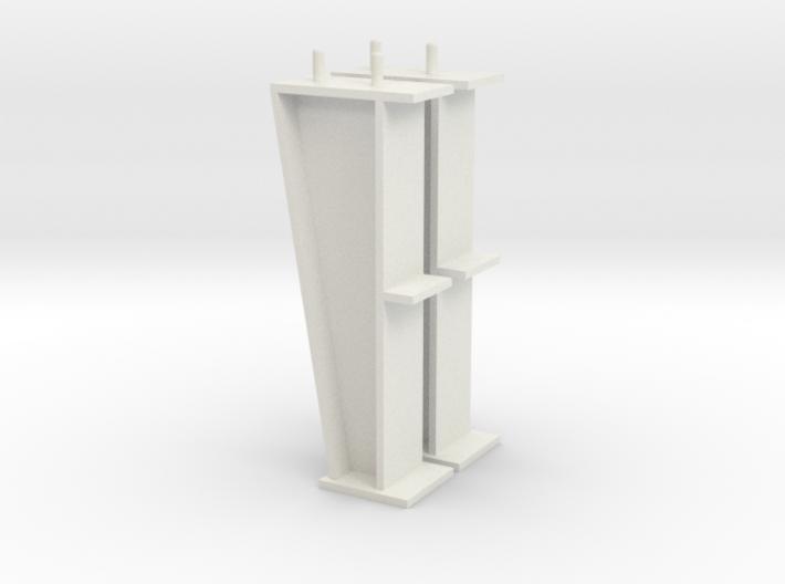 1/64 10' I-beam Post 3d printed