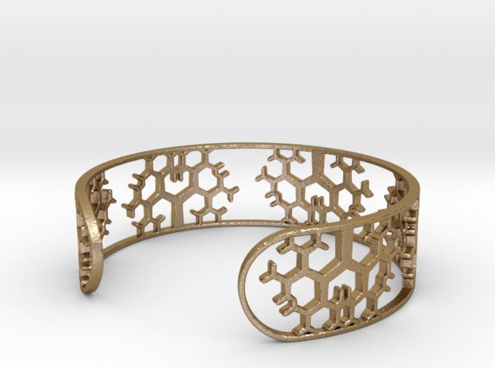 Geometric Tree Bracelet 7in (18cm) 3d printed
