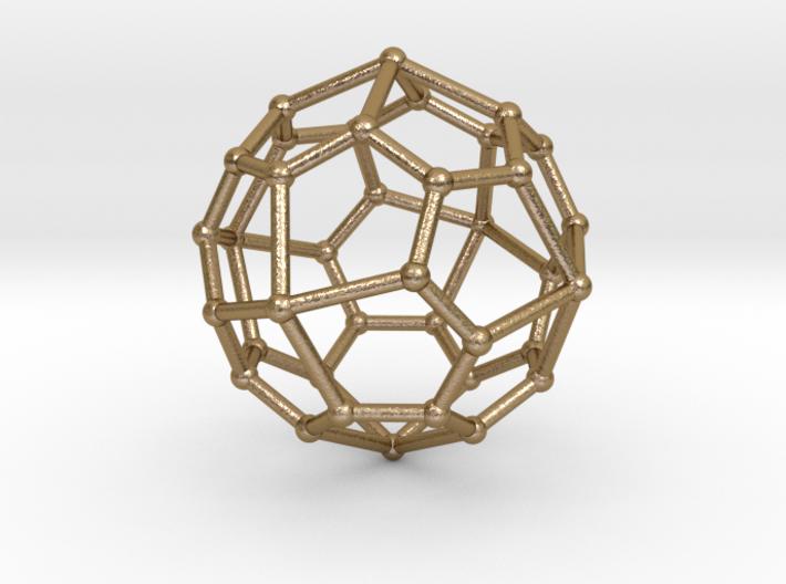 0323 Pentagonal Icositetrahedron V&E (a=1cm) #002 3d printed