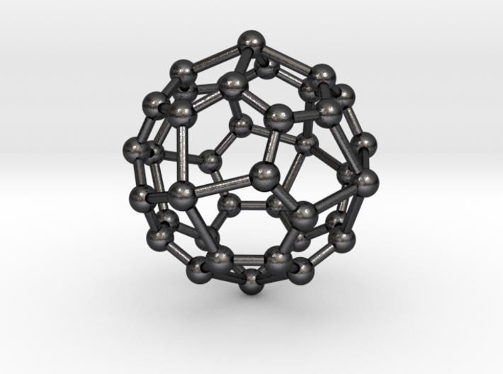 0324 Pentagonal Icositetrahedron V&E (a=1cm) #003 3d printed