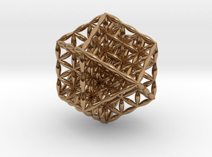Flower Of Life Vector Equilibrium 3d printed