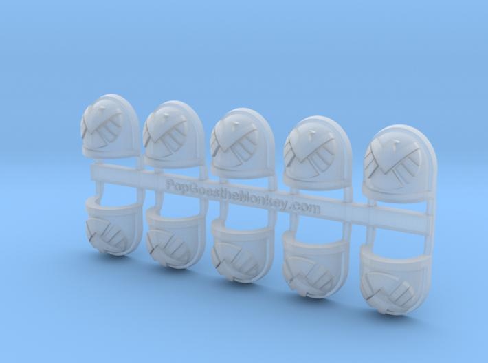 mSHEILD - Gen7:Standard Shoulder x10 3d printed