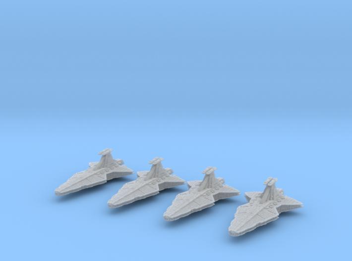 (Armada) 4x Venator Star Destroyer 3d printed