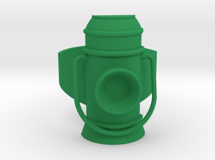 Green Lantern Power Ring (Alan Scott) 3d printed Normal colors. This is what I do.