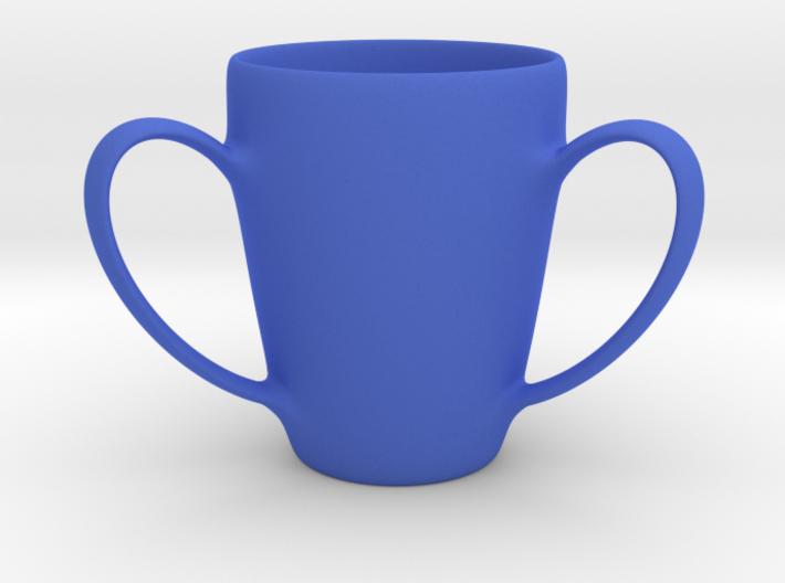 Coffee mug #2 - 3 Handles 3d printed