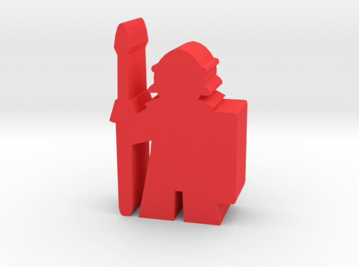 Game Piece, Roman Soldier 3d printed