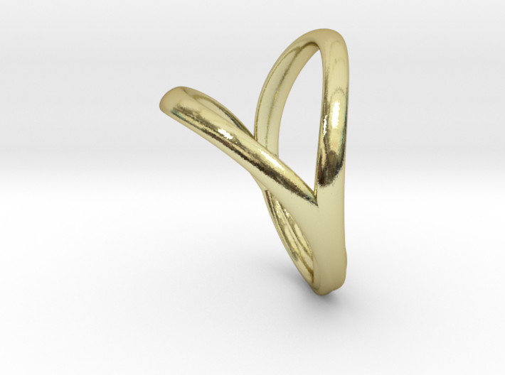 Union Heart Ring 3d printed