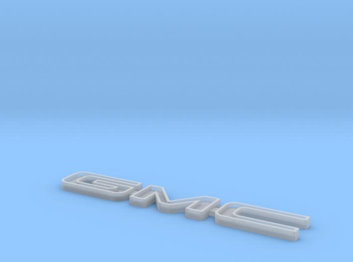 Tamiya Clodbuster Gmc Tailgate Emblem 3d printed