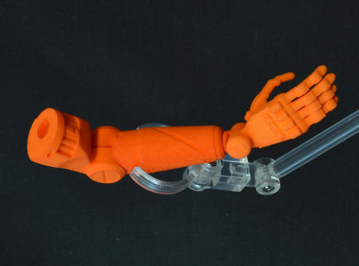 PRHI Solid Arm - Gripping Hand (Right) 3d printed
