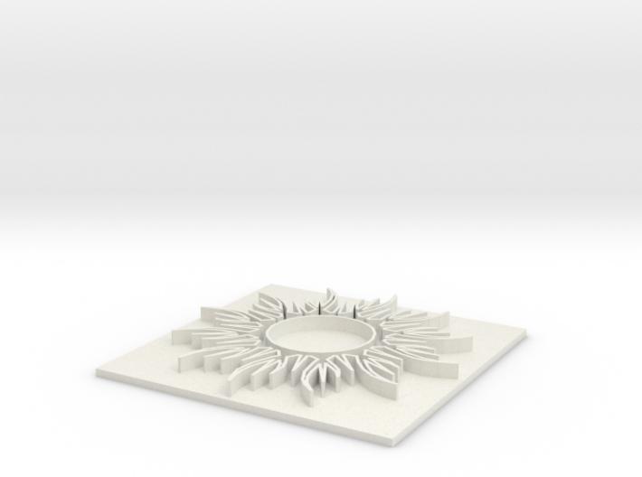 Sun1 (8 inch) 3d printed