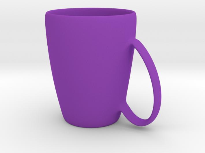 Coffee mug #6 XL - Handle UpSideDown 3d printed