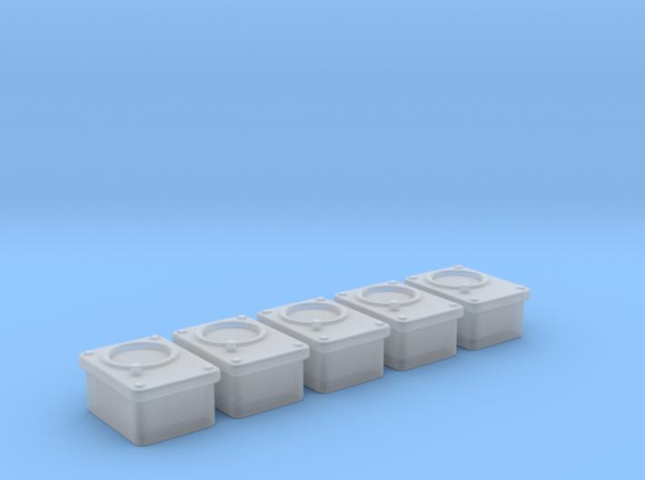 1/18 USN Gauges Mv1 Set 5 Units 3d printed