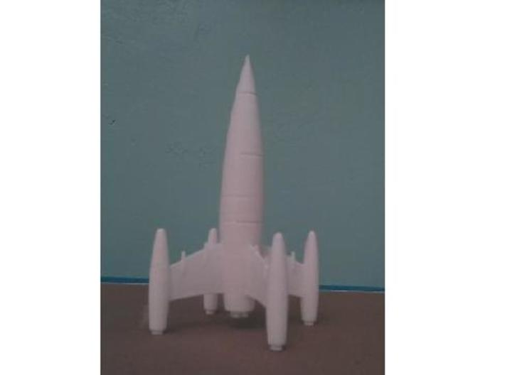Four Finned Rocket-2 3d printed