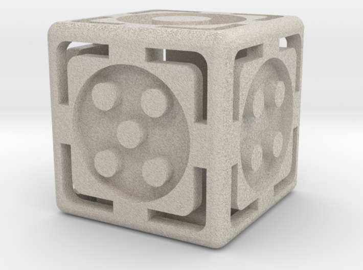 Open Dice 3d printed