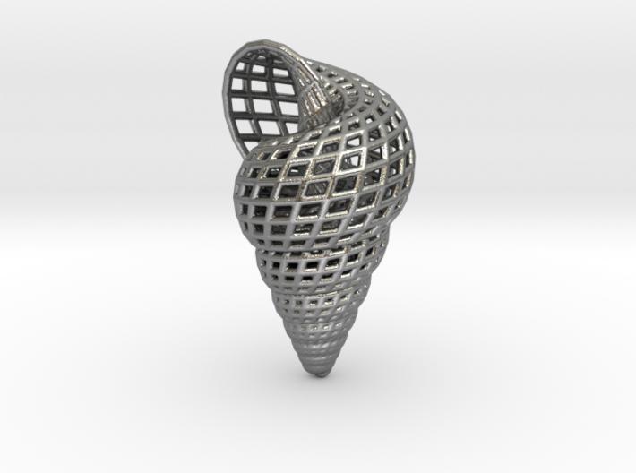 Shell Earring 3d printed