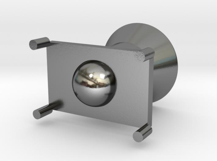 Rocket modeling trash 3d printed