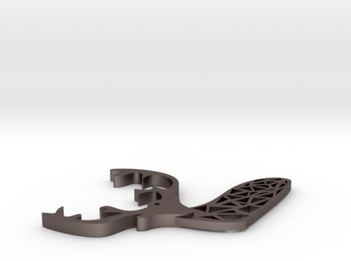 Elk necklace 3d printed