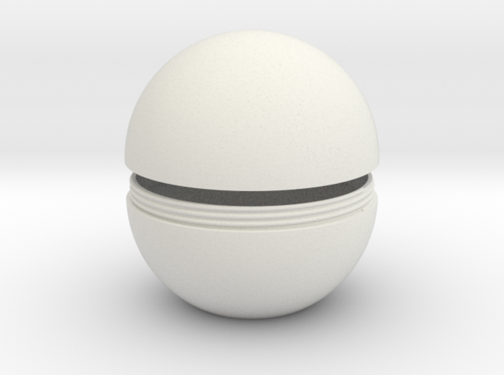 Sphere With Thread 3d printed