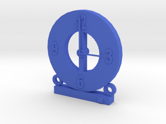 104102216 藍子超 造型時鐘 3d printed