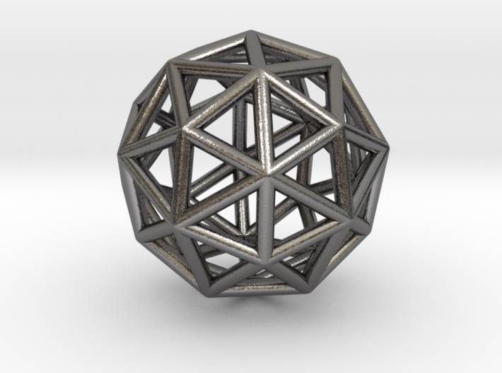 0325 Pentakis Dodecahedron E (a=1cm) #001 3d printed
