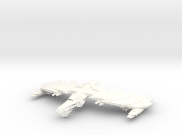 GhostHawk Class VI BattleCruiser 3d printed