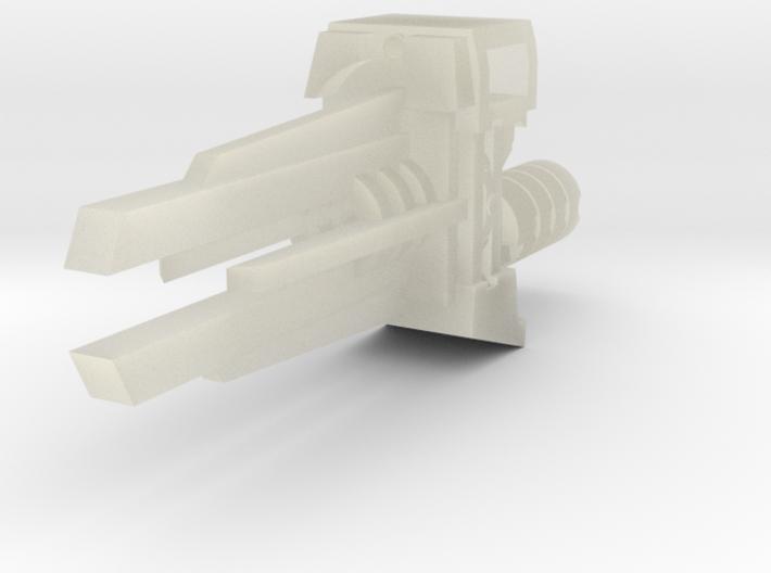 Ratchetrooper Weapon 08 - Railgun 3d printed