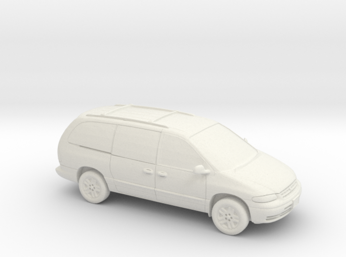 1/87 1995-2000 Plymouth Grand Voyager 3d printed