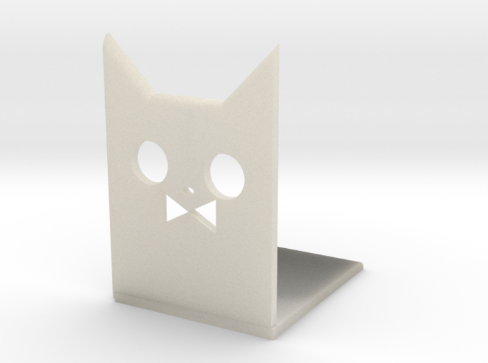 Cat Bookends 3d printed