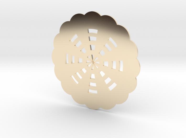 花型杯墊 3d printed