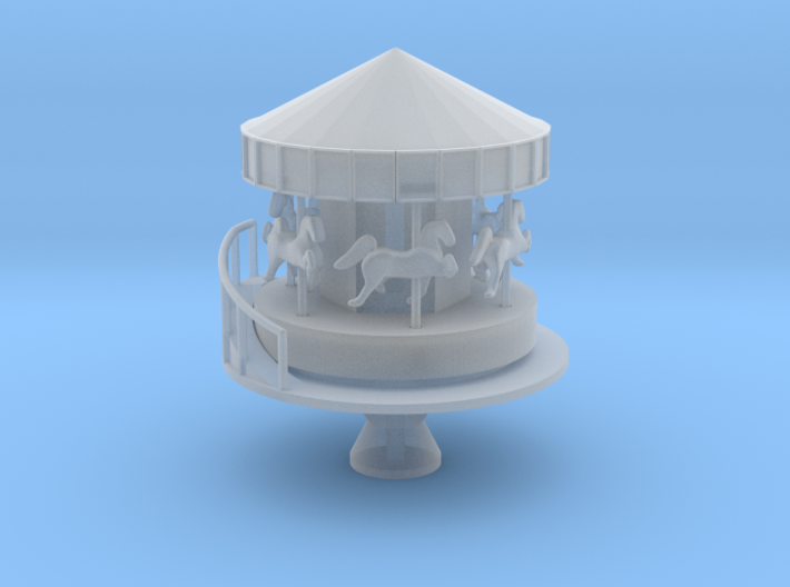 Carousel - Zscale 3d printed