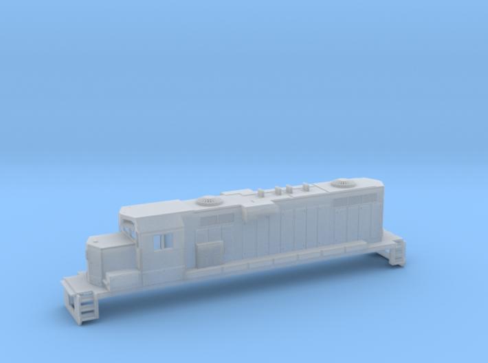 Gp11 N Scale Paducah Geep (For Printed Handrails) 3d printed