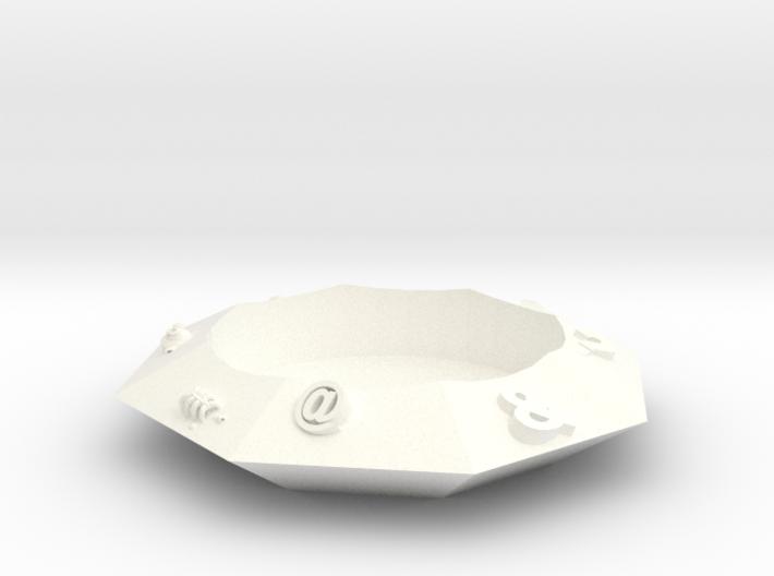 鑽石杯墊 3d printed