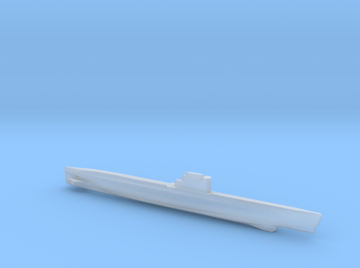 Whiskey-class submarine, Full Hull, 1/1800 3d printed